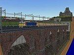 ななついろレイアウト完成レンガ橋脚EF8189