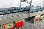 TOMIX 複線高架橋脚ガード下建物セットB