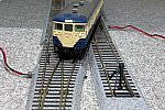 1/80 16.5mm  電動ポイント6番とTOMIX 113系横須賀線