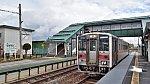 [JR北]キハ54形気動車504@永山駅(宗谷本線)