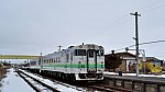 [JR北]キハ40形気動車1784@鵡川駅(日高本線)