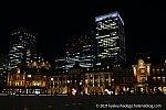 これは「東京駅」の写真です。赤レンガ駅舎である丸の内駅舎が見えます。