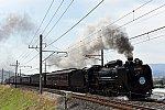 D51 498 + 旧型客車6B SLぐんまみなかみ(8731レ)