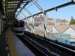 廃車が始まったE217系と建設中の武蔵小杉駅下りホーム