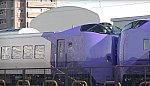 /upload.wikimedia.org/wikipedia/commons/thumb/a/ab/JR_Hokkaido_Kiha_261-5000_waiting_for_delivery_2021-01-25.jpg/1024px-JR_Hokkaido_Kiha_261-5000_waiting_for_delivery_2021-01-25.jpg