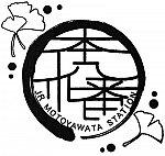 JR本八幡駅のスタンプ。