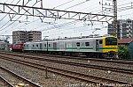 クモヤE493系+EF8198 202105