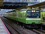 奈良支所201系による大和路線快速