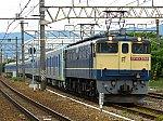 EF65-2068が牽引する都営地下鉄三田線用6500形の甲種輸送です。