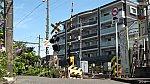 160611滝の院踏切鎌倉あじさい号++