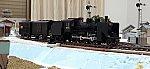 鉄道模型レイアウトC56走行