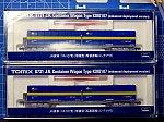 1:150 TOMIX JR貨物 コキ107 増備型 西濃運輸コンテナ付