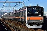JR East 205-5000 Musashino Line 20170116.jpg