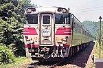 キハ82(キハ80系)特急「おおとり」 198107