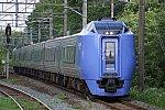 千歳線を走る特急「スーパー北斗」キハ281系