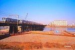 2000年頃の小田急多摩川橋梁、まだ架け替え前の姿