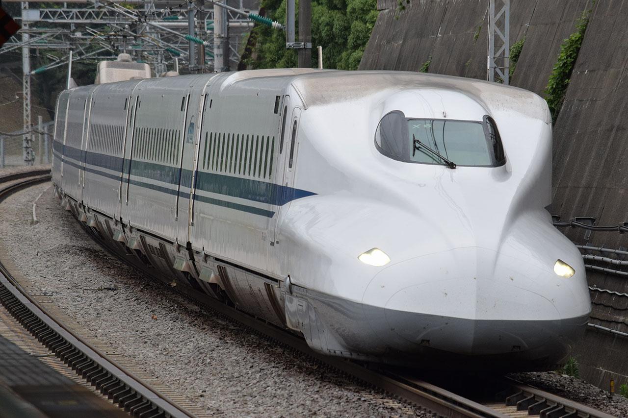 平成後期の東海道新幹線の主力、N700系シリーズ