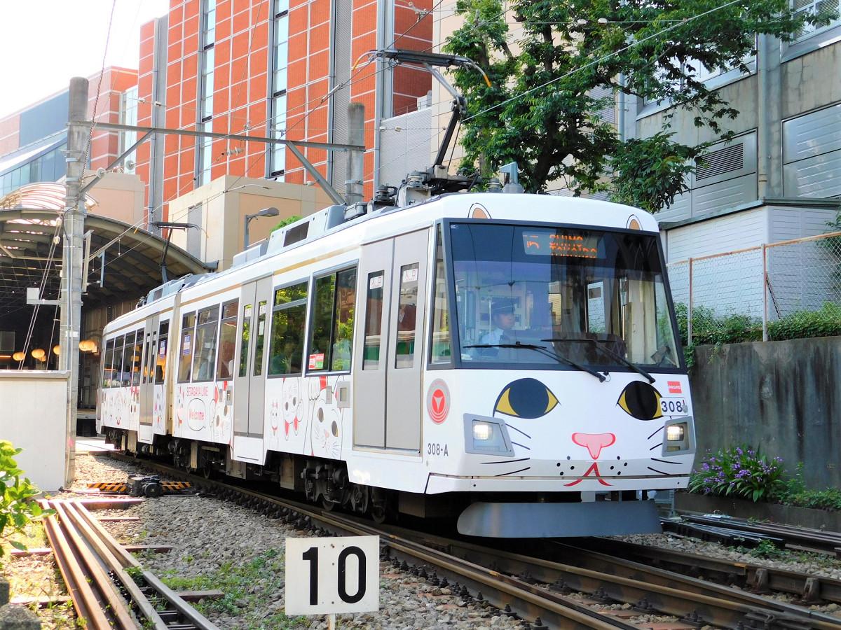 復活した「幸福の招き猫電車」