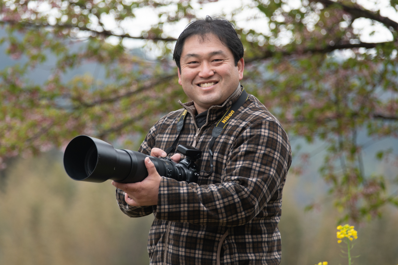 鉄道写真家の助川康史さん