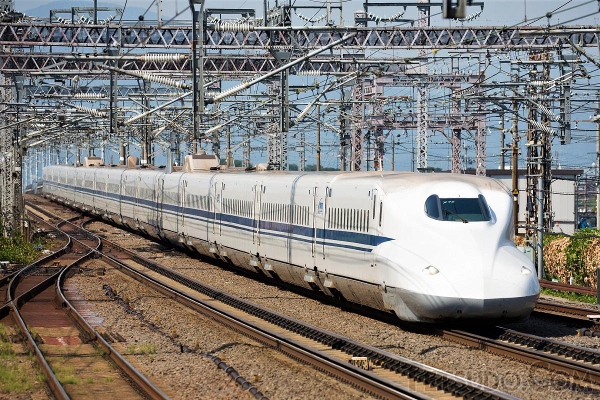 東海道・山陽新幹線の主力車両、N700系