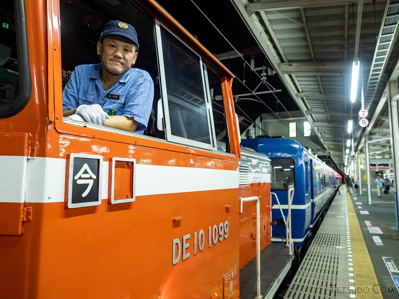 下今市機関区所属のDE10形1099号機はJR東日本から譲渡された機関車です