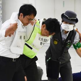 テロの発生時、駅員は? 東京駅でテロ対応実働訓練が開催