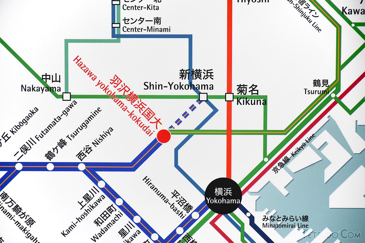 「相鉄新横浜線」の路線名は、羽沢横浜国大~新横浜間の開業までは「お預け」のようです