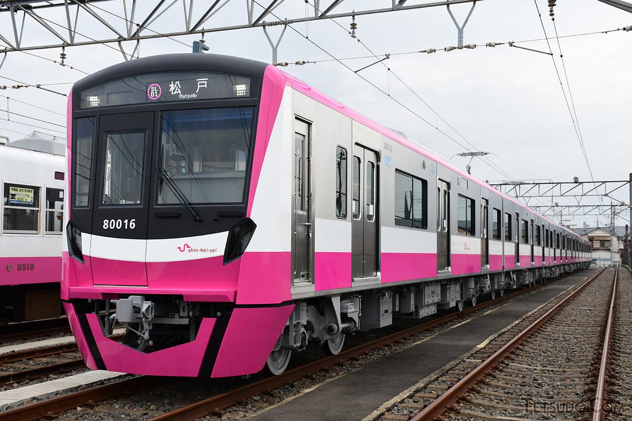2019年最後のデビュー車両となる新京成電鉄80000形