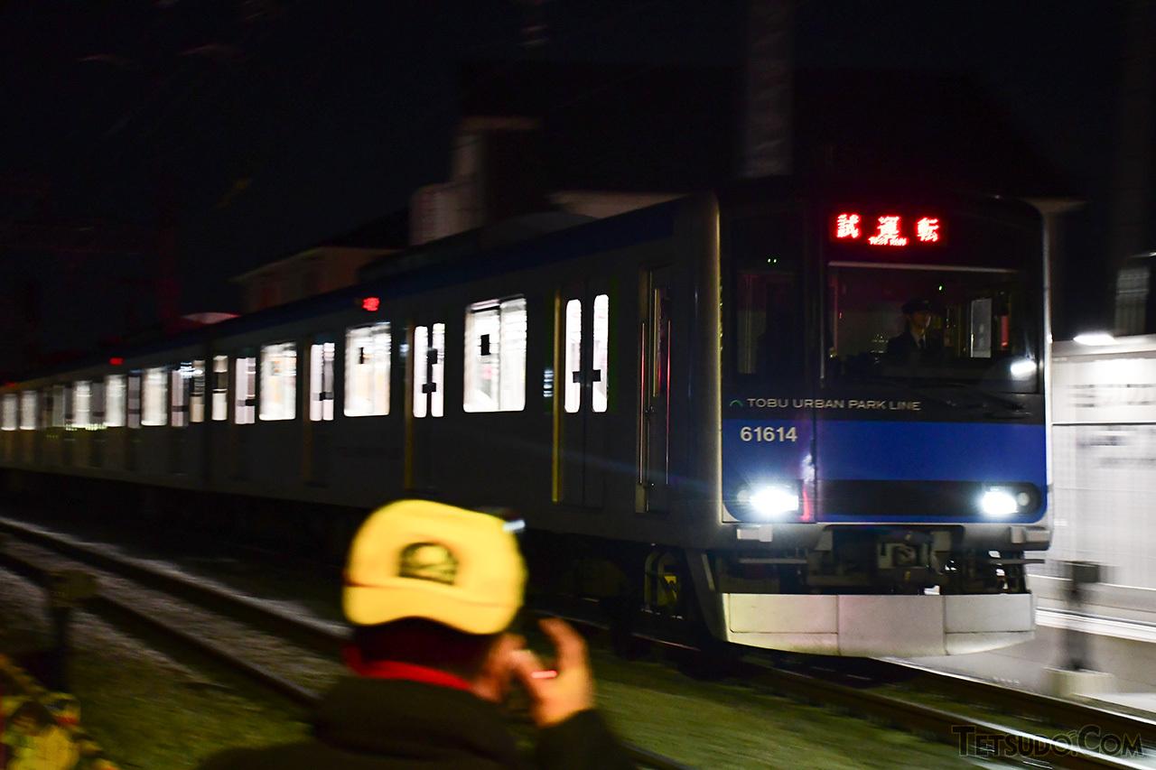 試運転列車