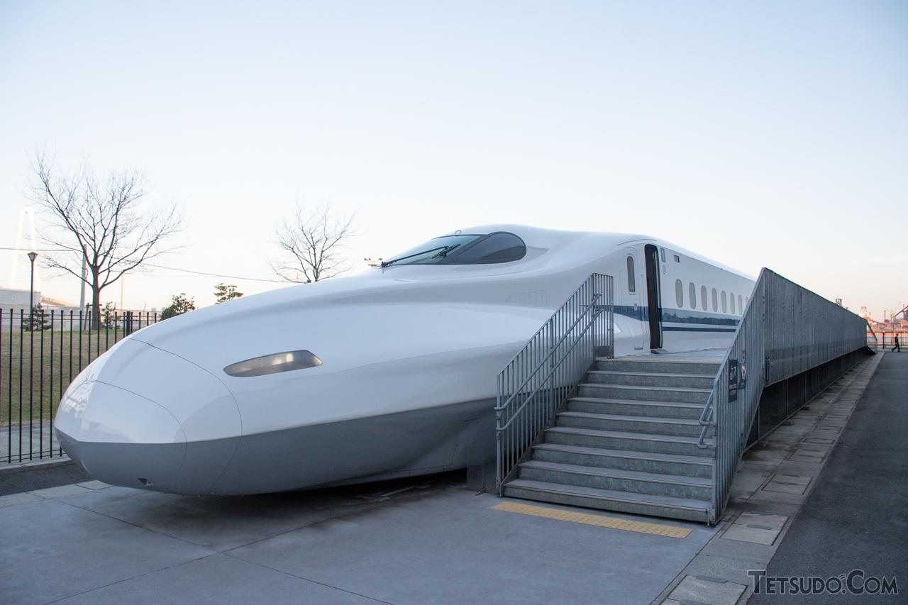 2019年よりリニア・鉄道館に展示されているX0編成