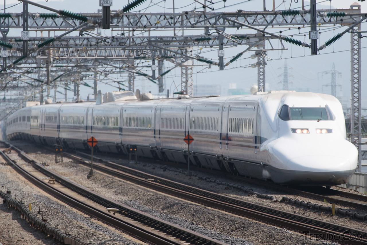 3月8日に東海道新幹線ラストランを迎える700系
