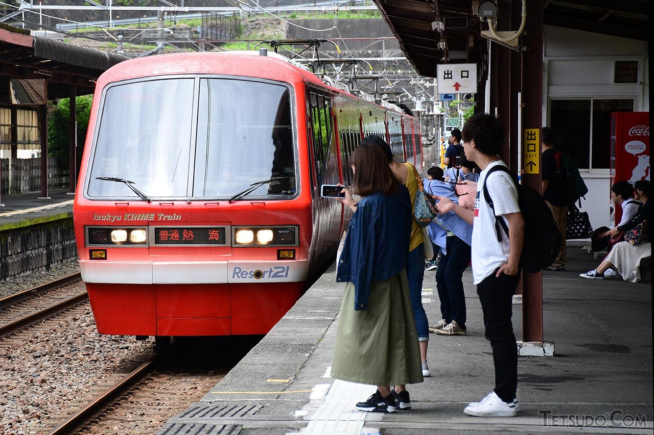 伊豆急行が導入した2100系「リゾート21」