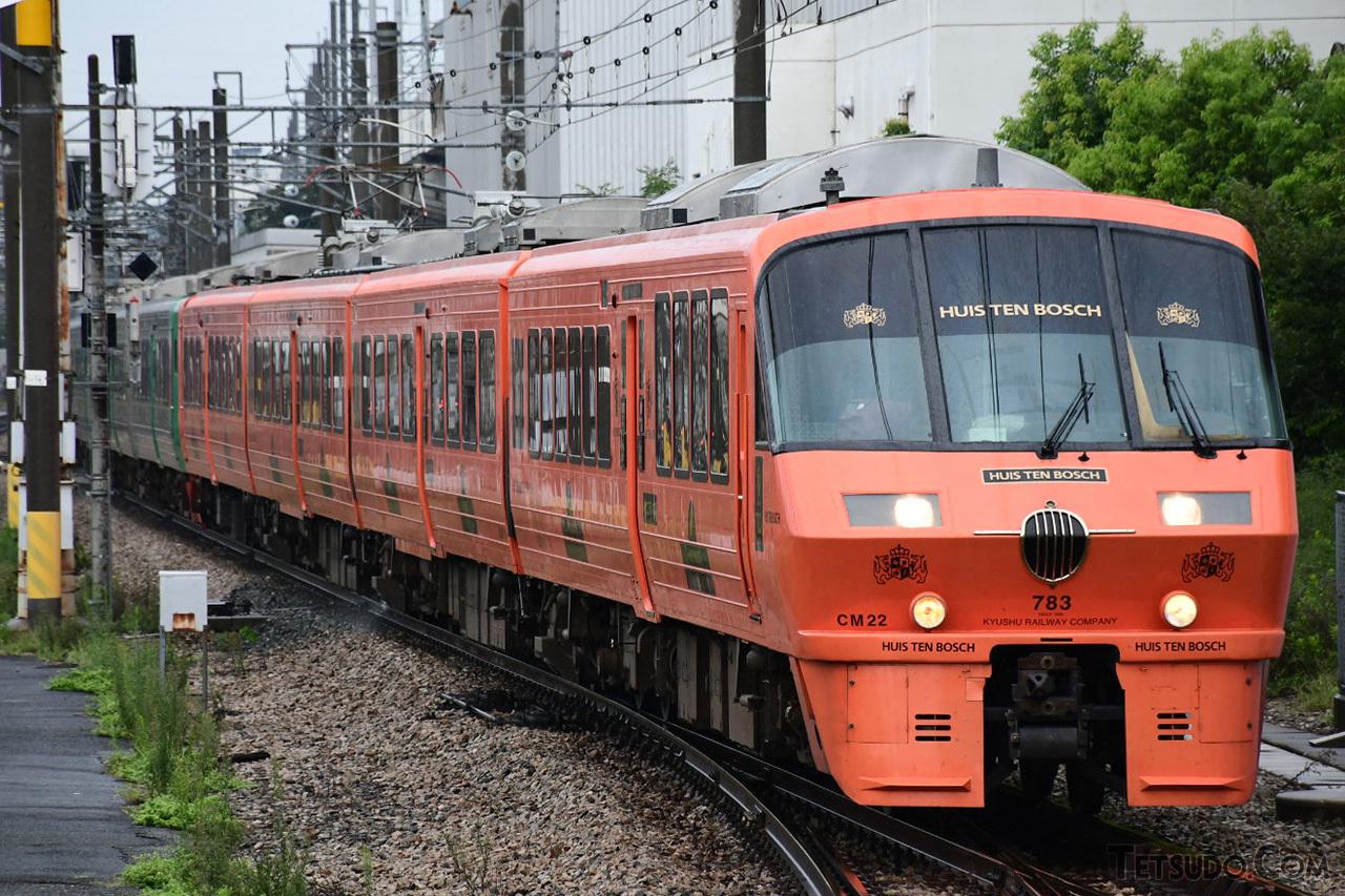JRで初めて「スーパー」を冠した列車に使われた783系(写真はリニューアル後のもの)