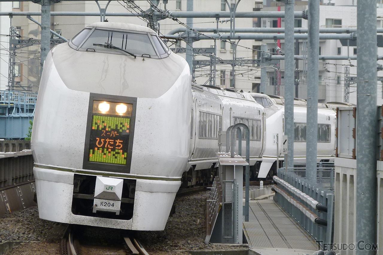 JR東日本が初めて開発した651系。同形式の投入列車は「スーパーひたち」として運転されました