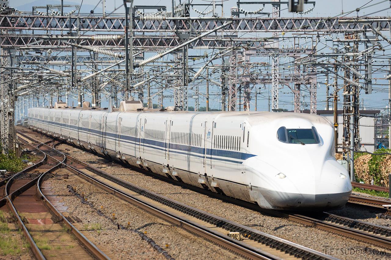 東海道新幹線の営業列車はN700Aタイプに統一