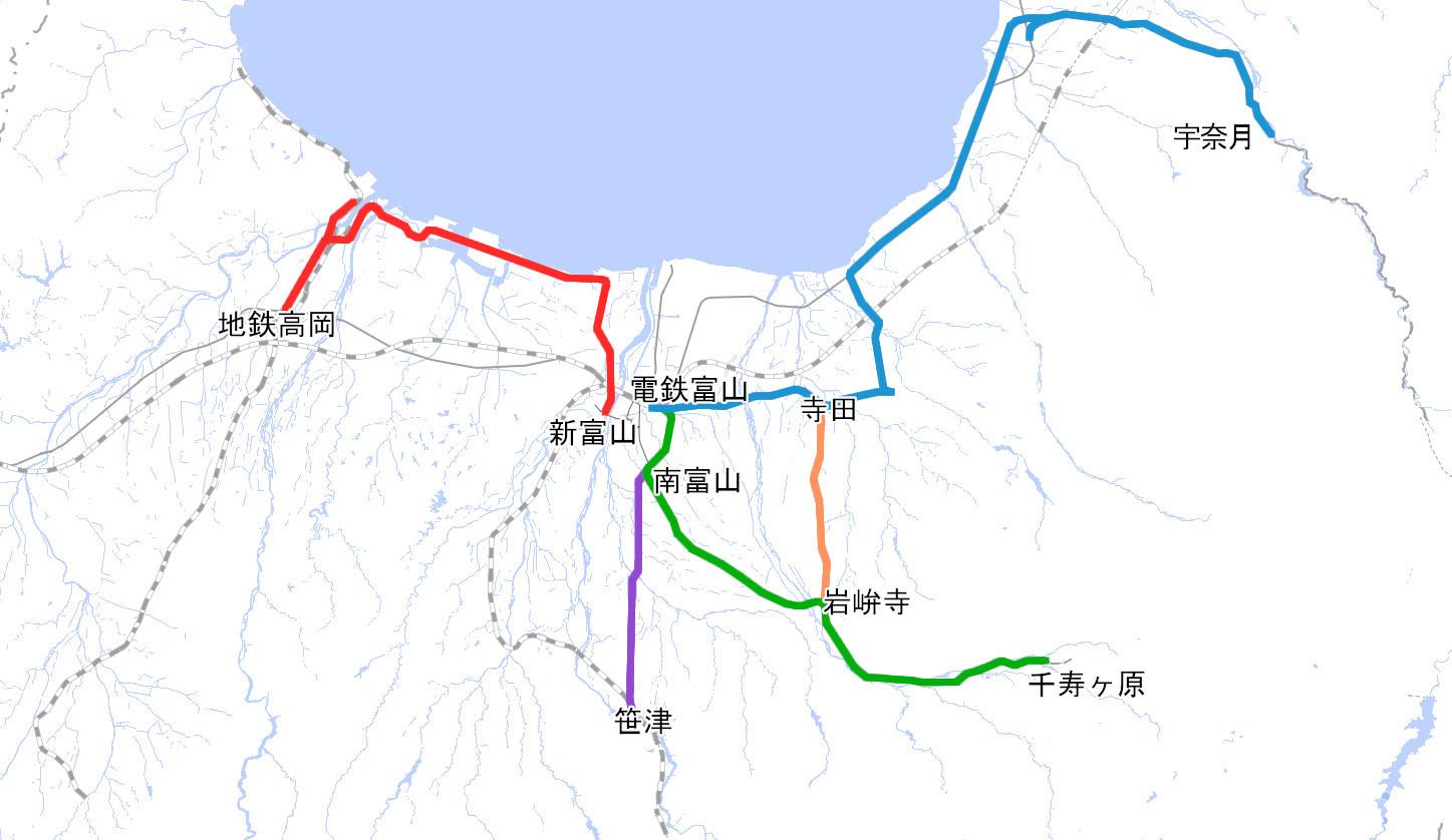 地方 運行 富山 状況 鉄道