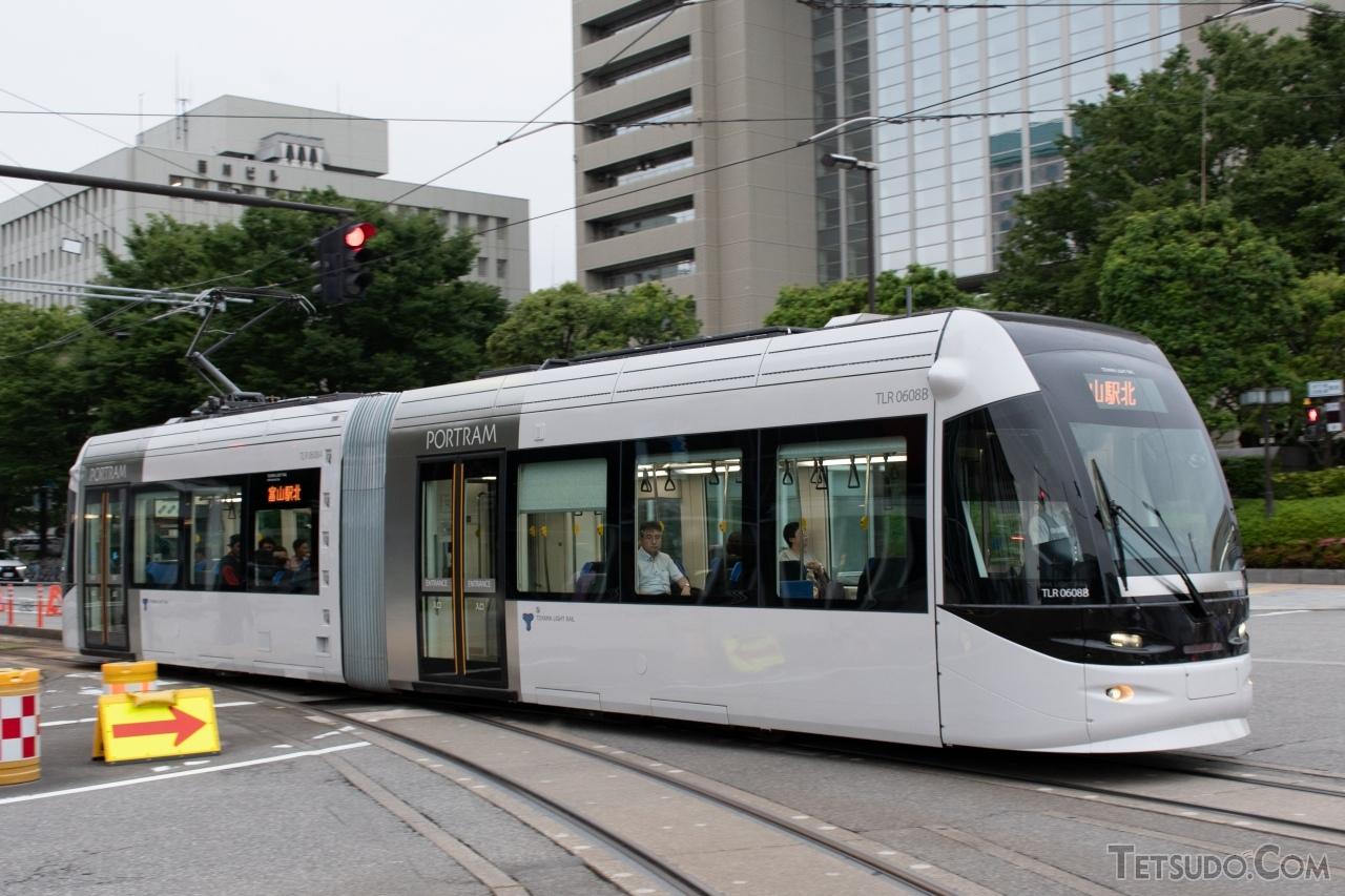 「LRT」として2006年に生まれ変わった富山港線