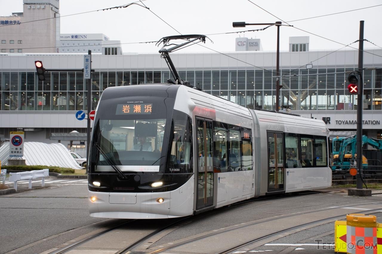 一般的に「LRT」とされる富山港線