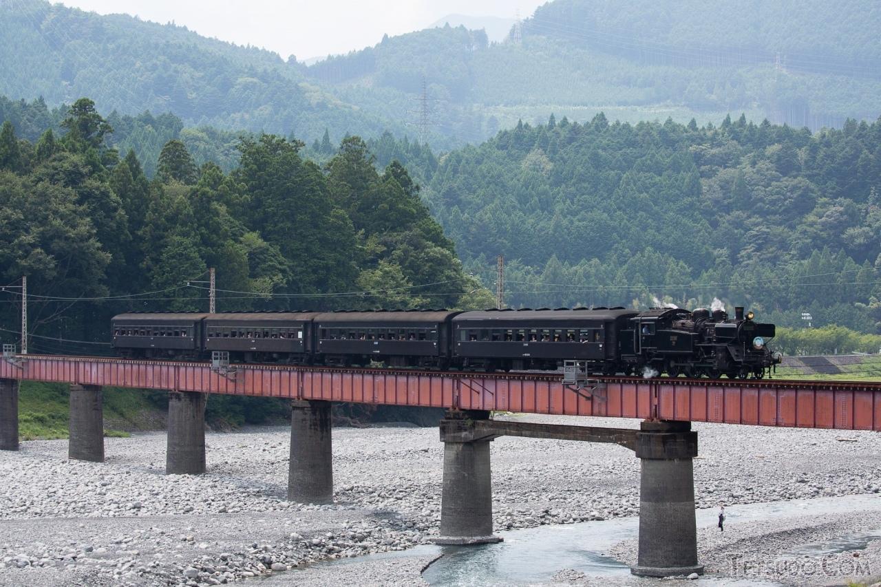 大井川鐵道のSL急行「かわね路」も運休となります