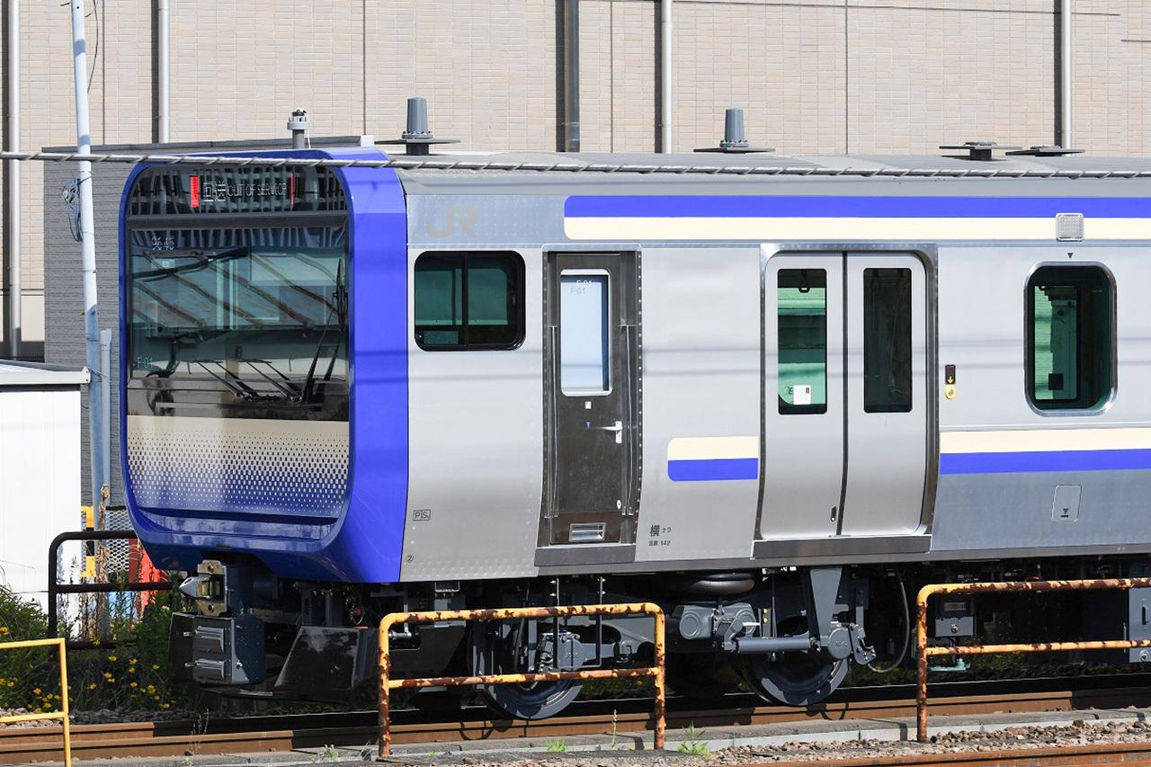 E217系の置き換え用として投入されるE235系。1000番台を名乗ります