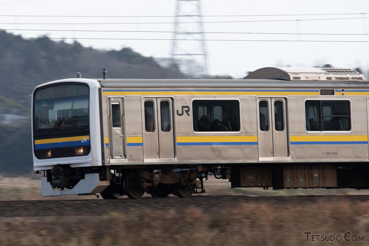 JR東日本発足後に初めて開発した一般形車両、209系