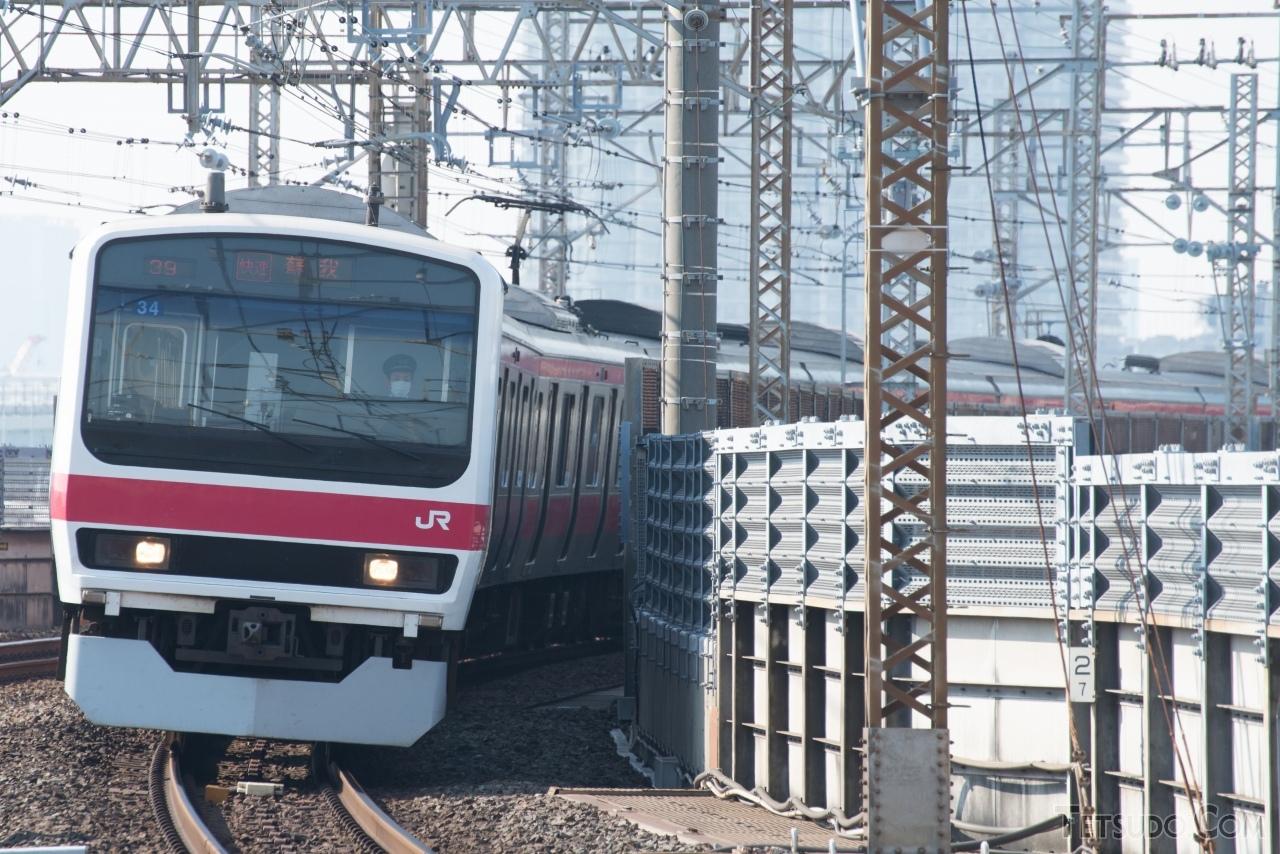 京葉線用209系として唯一残ったケヨ34編成