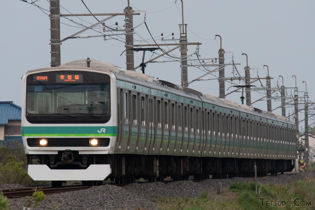 JR東日本の第2世代一般形電車となるE231系