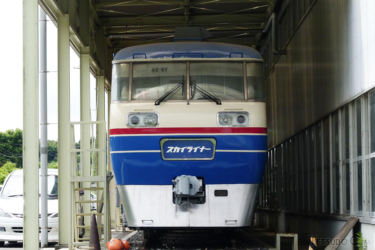 3400形に機器を提供した初代AE形。1両が宗吾車両基地に保存されています