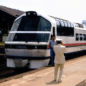 C62ニセコ号、フラノエクスプレスの夏~平成2年の鉄道風景(北海道編)