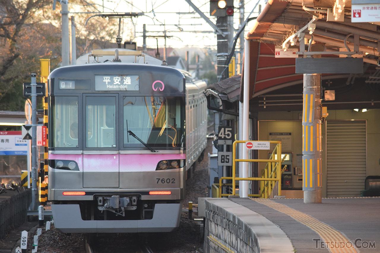 上飯田線開業時に投入された7000形