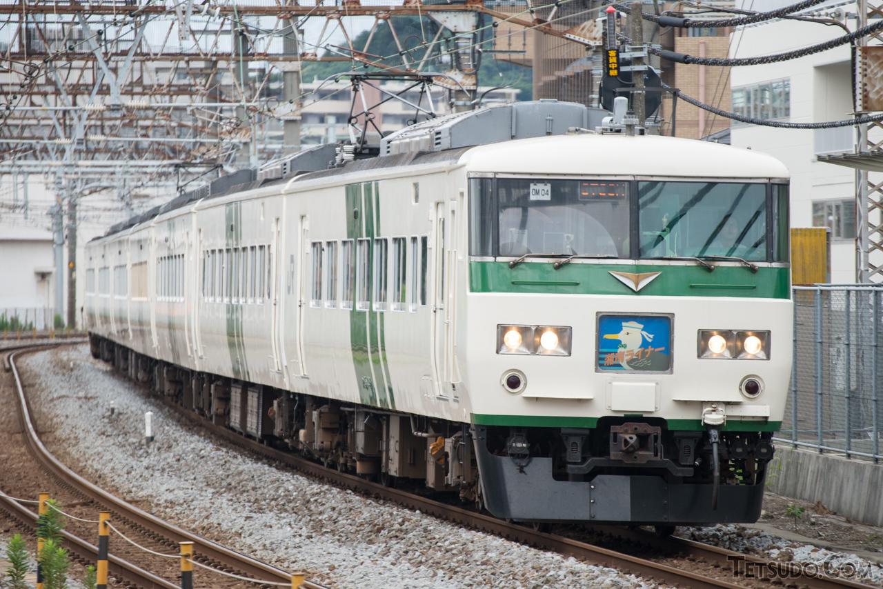 東海道線で運転される「湘南ライナー」