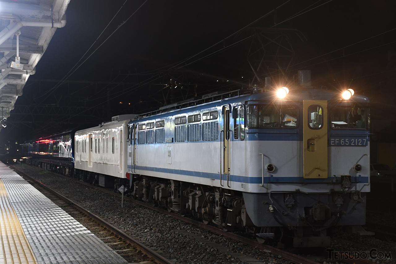 7月21日に伊豆半島から旅立った「THE ROYAL EXPRESS」