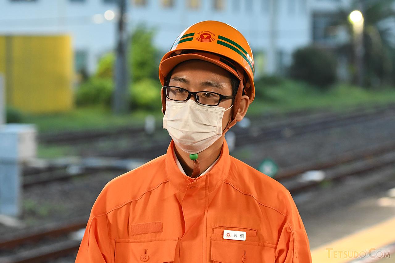 東急でTHE ROYAL EXPRESSのプロジェクトを担当する片桐淳也さん