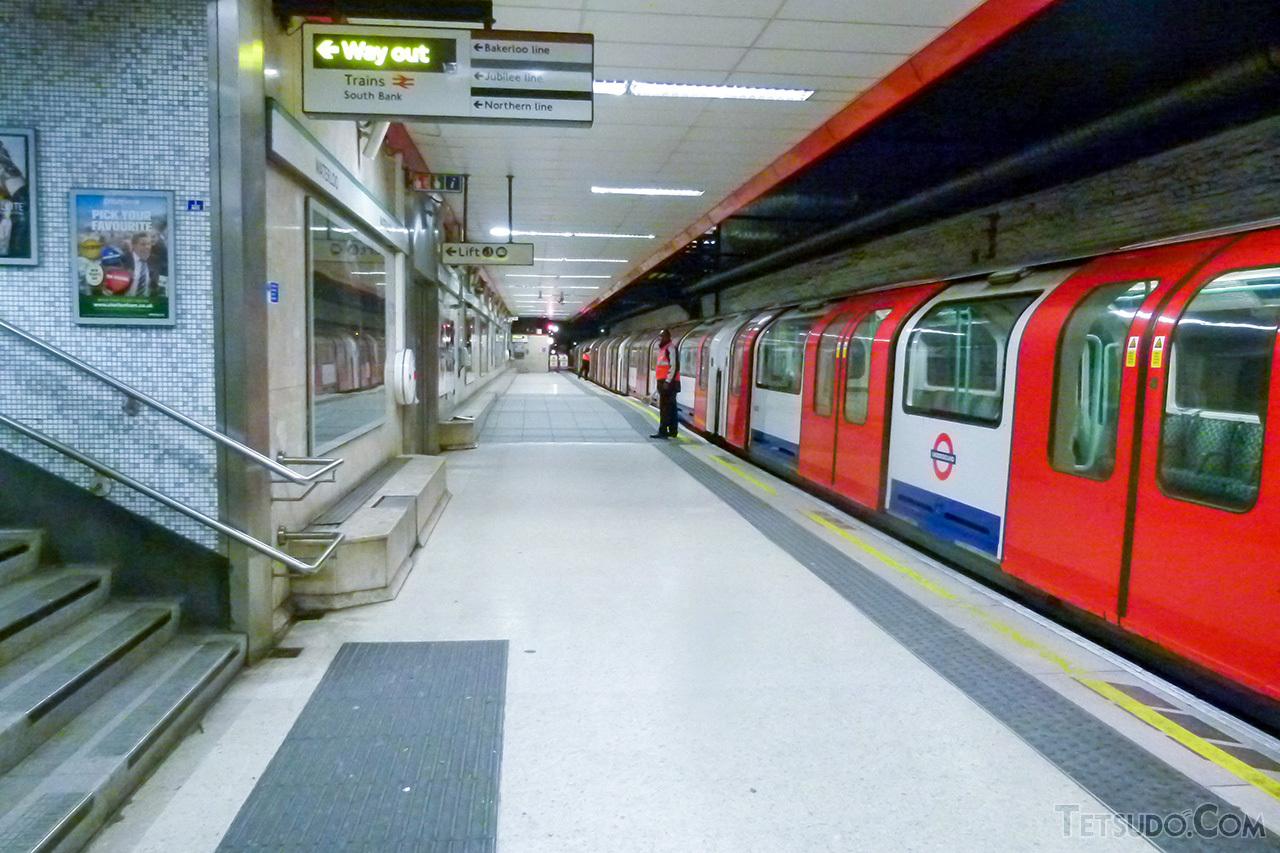 時間帯別運賃を導入しているロンドン地下鉄